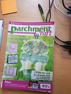 Parchment Craft Magazine  June 2014  • 1.50£