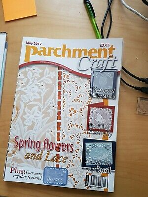Parchment Craft Magazine May 2012 • 1.50£
