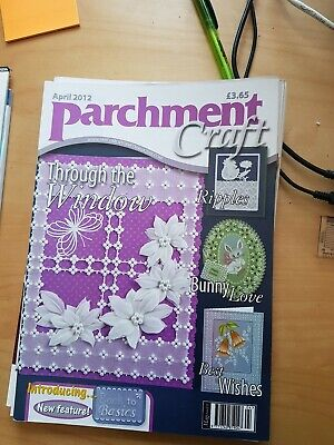 Parchment Craft Magazine April 2012 • 1.50£