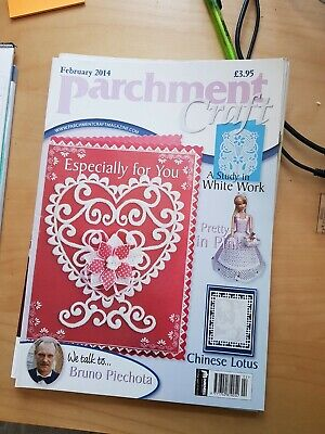 Parchment Craft Magazine February 2014 • 1.50£