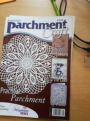 Parchment Craft Magazine  August 2011 • 1.50£