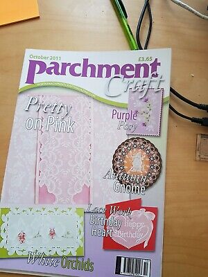 Parchment Craft Magazine October 2011 • 1.50£
