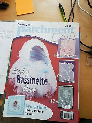 Parchment Craft Magazine February 2011 • 1.50£