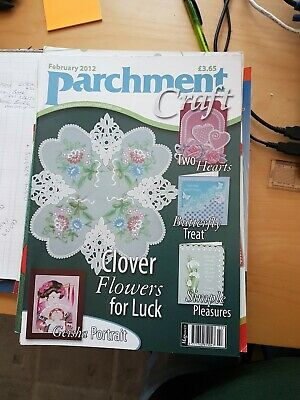 Parchment Craft Magazine February 2012 • 1.50£