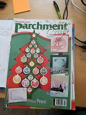 Parchment Craft Magazine November 2011 • 1.50£