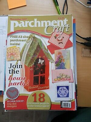 Parchment Craft Magazine November 2007 • 1.50£
