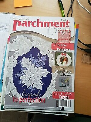Parchment Craft Magazine November 2012 • 1.50£