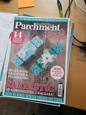 Parchment Craft Magazine December 2017 • 1.50£