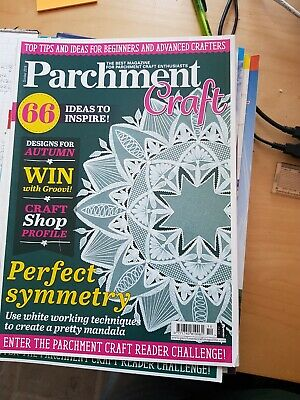 Parchment Craft Magazine October 2018 • 1.50£