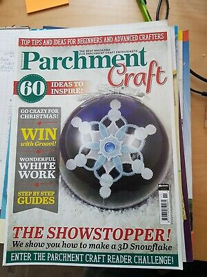 Parchment Craft Magazine - November 2018 Issue • 1.50£