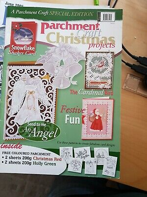 Parchment Craft Magazine Christmas Projects  • 1.50£