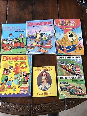 Children's Annuals | Disneyland | Magic Roundabout | 1970s/80s • 3.50£