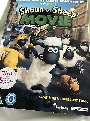 Shaun The Sheep - The Movie (DVD) • 0.75£