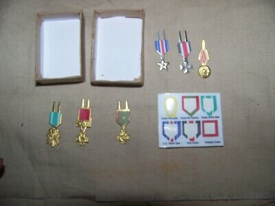 $ CDN8.77 • Buy 1/6th Scale GI Joe Custom Set Of 6 Medals With Decals