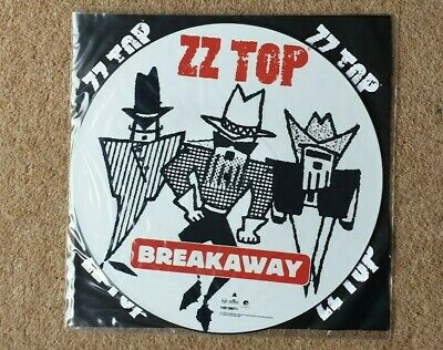 ZZ Top Breakaway 12 Inch Picture Disc • 10£