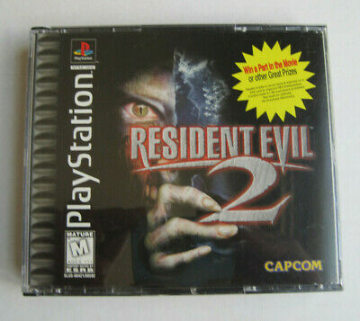 $25 • Buy Black Label RESIDENT EVIL 2 Playstation 1 Complete Clean And Tested