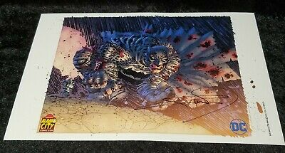 The DARK KNIGHT Signed FRANK MILLER 11  X 17  ACCC Exclusive Print • 72.95£
