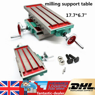 £107 • Buy Multifunction XY Axis Cross Slide Table F/ Drill Stands,Drilling Milling Machine