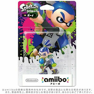 AU56.90 • Buy Limited Offer Nintendo Amiibo Inkling BOY BLUE Splatoon Switch Wii U