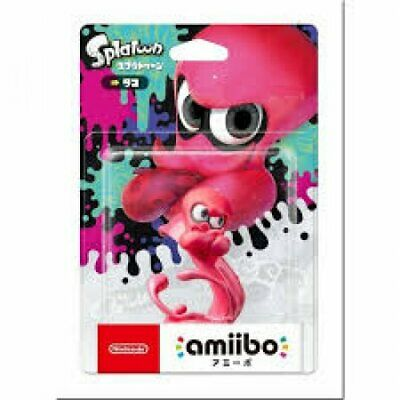 AU56.90 • Buy Limited Offer Nintendo Amiibo Octopus Splatoon 2 Switch Wii Pink