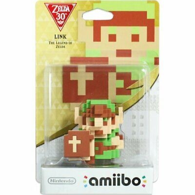 AU50.50 • Buy [Limited Offer] Nintendo Amiibo 8-bit Link The Legend Of Zelda Character Figure