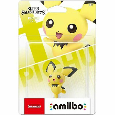 AU44.90 • Buy Nintendo Amiibo Super Smash Bros. Series Figure - Pichu For NS Switch 3DS WiiU