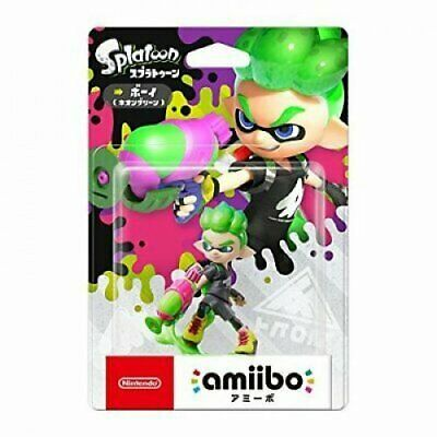 AU56.90 • Buy [Limited Offer] Nintendo Amiibo Splatoon Inkling BOY Neon Green Switch Wii Rare