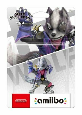 AU50.50 • Buy Nintendo Amiibo Ultimate Wolf SSB Super Smash Bros Series Switch Wii Rare