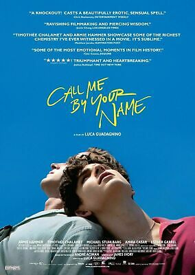 AU19.95 • Buy 246547 Call Me By Your Name Romantic Movie Art WALL PRINT POSTER AU