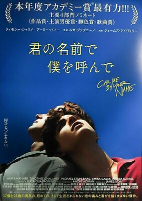 AU19.95 • Buy 249624 Call Me By Your Name Japan Movie Art WALL PRINT POSTER AU