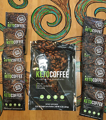 $15.83 • Buy It Works! Keto Coffee Open Bag 11 Packets Carb Management