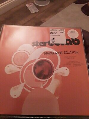 Stereolab - Margerine Eclipse Vinyl LP Clear Edition New 2019 • 25£
