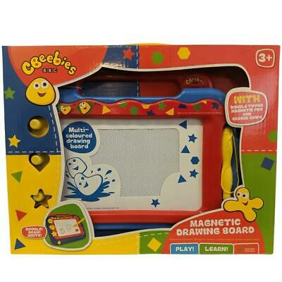 Cbeebies BBC Magnetic Drawing Scribble Doodle Board Etch A Sketch Kids Toddlers • 9.99£