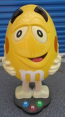 $349.99 • Buy M&M Yellow Candy Character Store Display 36 Inches Tall