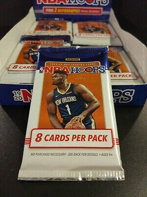 AU19.99 • Buy 2019-20 Nba Hoops Hobby Pack 8-card Pack **find Zion Williamson Rookie Cards**