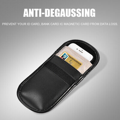 Anti Radiation Mobile Signal Shielding Phone Bag GPS Signal Blocker Pouch Case • 3.79£
