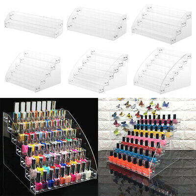 Acrylic Nail Polish Cosmetic Varnish Lipstick Postcard Retail Display Stand Rack • 9.95£