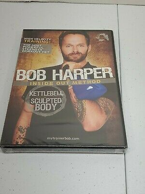 GoFit Bob Harper Kettlebell Sculpted Body 50 Minutes (DVD) NEW • 7.07£
