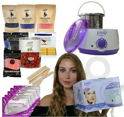 £18.99 • Buy Wax Warmer, Hair Removal Waxing Kit With Accessories. Vax Total Home Waxing Kit