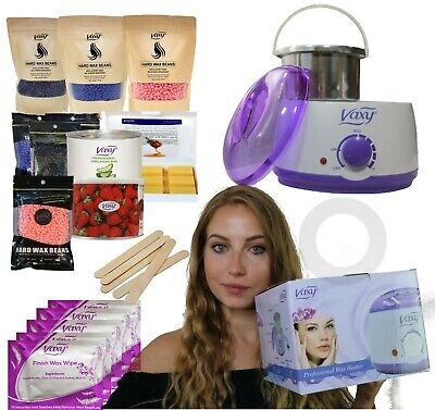 Wax Warmer, Hair Removal Waxing Kit With Accessories.Vaxy Total Home Waxing Kit  • 19.99£