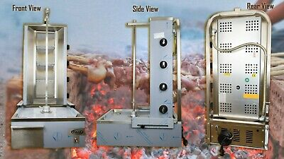 Commercial Donner Machine 4 Burner Archway Doner Kebab Machine Natural Gas/LPG • 799.99£