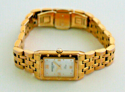 £149.99 • Buy Ladies Raymond Weil Gold Electroplated Tango Watch 5971