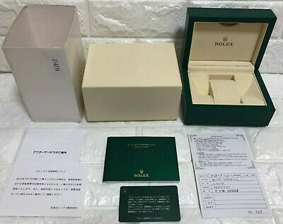 $ CDN195.09 • Buy GENUINE Rolex Explorer Watch Box Case Wave 39137.04  Booklet / B0707011