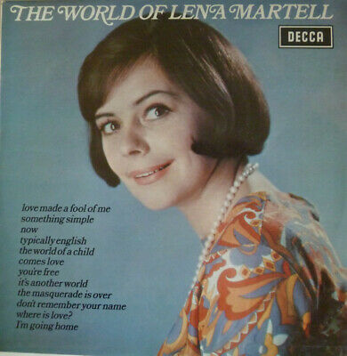 Lena Martell ‎– The World Of Lena Martell  • 1£