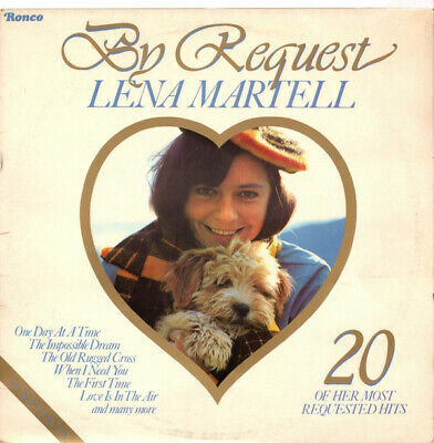 Lena Martell ‎– By Request  • 1£