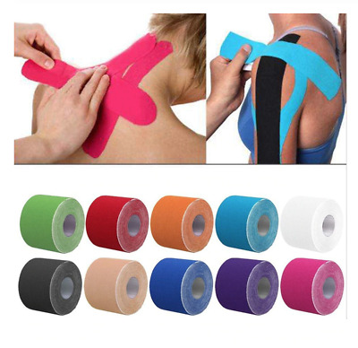 Kinesiology Tape Athletic Tape Sport Recovery Tape Strapping For Knee Muscle  • 6.15£