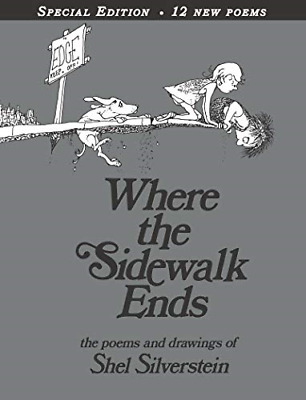 Where The Sidewalk Ends: Poems & Drawings, Very Good Condition Book, Silverstein • 9.30£
