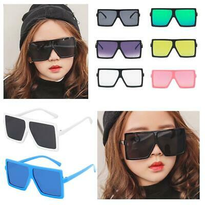 Kids Girls Square Sunglasses Shades Lenses UV400 Outdoor Protection Baby Frame • 2.73£