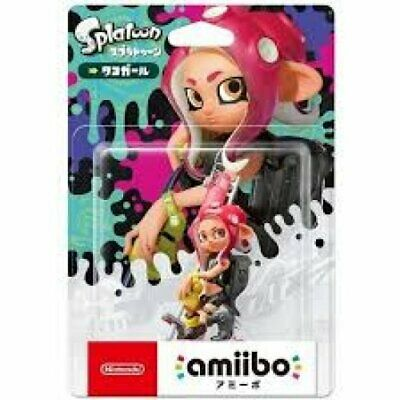 AU63.50 • Buy Limited Offer Nintendo Amiibo Octoling Girl Splatoon 2 Switch Wii Pink