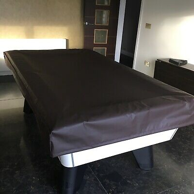 £39.99 • Buy 6ft Pool Table Cover Billiards  BLACK Professional Heavy Duty Material,  UK Made